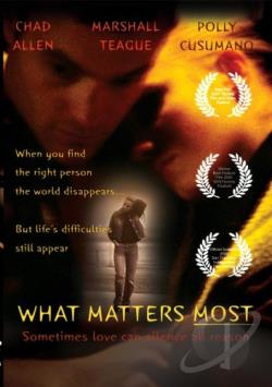 What Matters Most DVD Cover Art