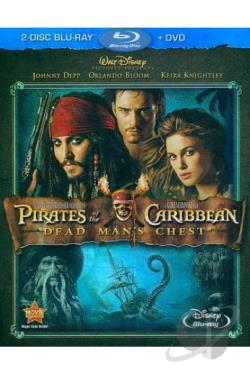 Pirates of the Caribbean: Dead Man's Chest BRAY Cover Art