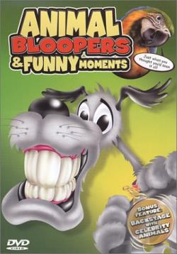 Animal Bloopers & Funny Moments DVD Cover Art