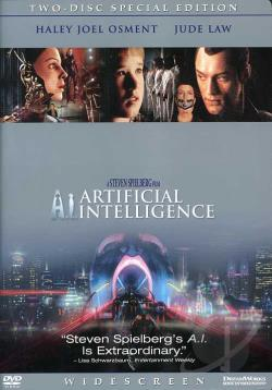A.I. Artificial Intelligence DVD Cover Art