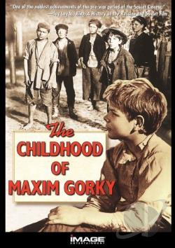 Childhood of Maxim Gorky DVD Cover Art