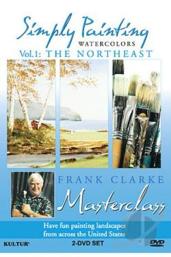 Simply Painting Watercolors - Vol. 1: The Northeast DVD Cover Art