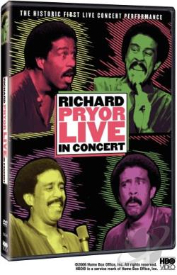 Richard Pryor - Live in Concert DVD Cover Art