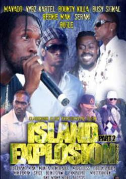 Island Explosion 2008 - Part 2 DVD Cover Art