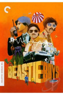 Beastie Boys DVD Video Anthology DVD Cover Art