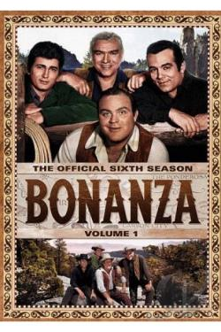 Bonanza: The Official Sixth Season, Vol. 1 DVD Cover Art