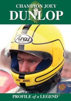 Champion Joey Dunlop DVD Cover Art