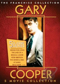 Gary Cooper Collection DVD Cover Art