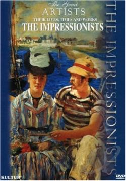Great Artists - Impressionists Box Set DVD Cover Art