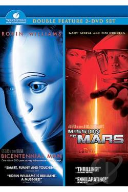 Bicentennial Man/Mission To Mars - 2 Pack DVD Cover Art