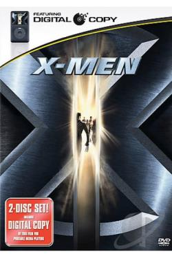 X-Men DVD Cover Art