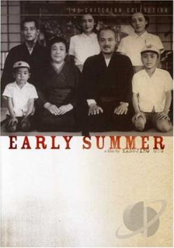 Early Summer DVD Cover Art