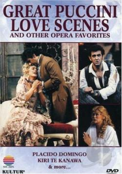 Great Puccini Love Scenes DVD Cover Art