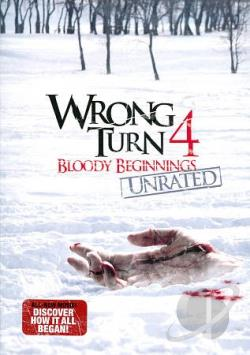 Wrong Turn 4: Bloody Beginnings DVD Cover Art