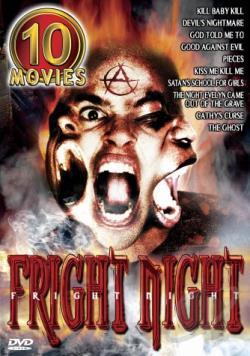 Fright Night - 10 Movie Set DVD Cover Art