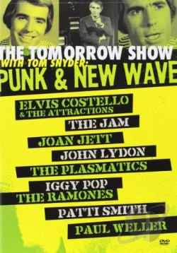 Tomorrow Show with Tom Snyder - Punk and New Wave DVD Cover Art
