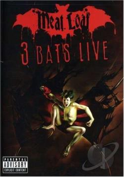 Meat Loaf - 3 Bats Live DVD Cover Art