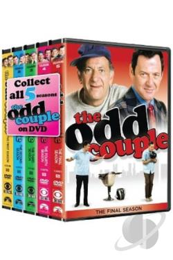 Odd Couple - The Complete Series Pack DVD Cover Art