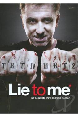 Lie to Me - The Complete Third Season DVD Cover Art