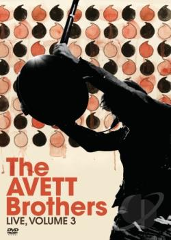 Avett Brothers: Live, Vol. 3 DVD Cover Art