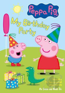 Peppa Pig: My Birthday Party DVD Cover Art