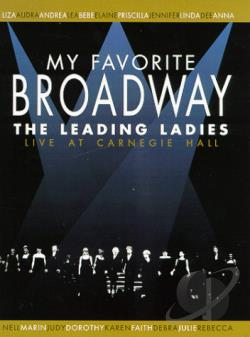 My Favorite Broadway: The Leading Ladies DVD Cover Art