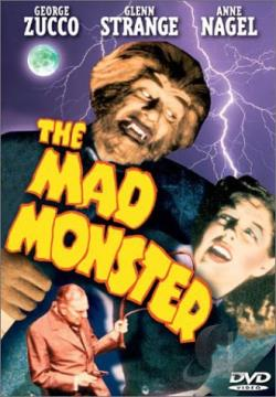 Mad Monster DVD Cover Art