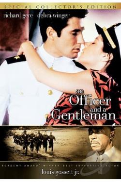 Officer and a Gentleman DVD Cover Art