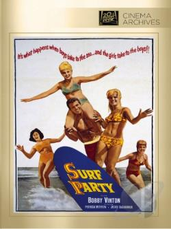 Surf Party DVD Cover Art