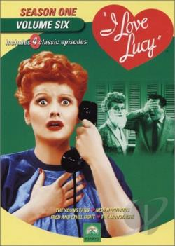 I Love Lucy - Season 1: Vol. 6 DVD Cover Art