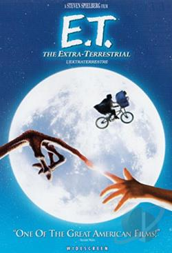 E.T. The Extra-Terrestrial DVD Cover Art