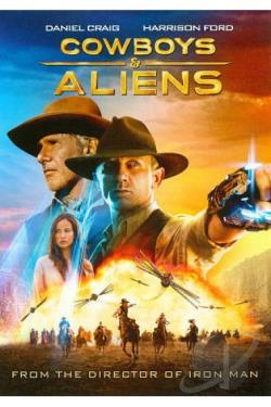 Cowboys & Aliens DVD Cover Art