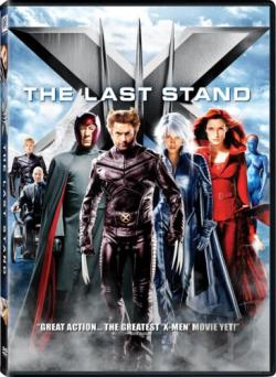X-Men: The Last Stand DVD Cover Art