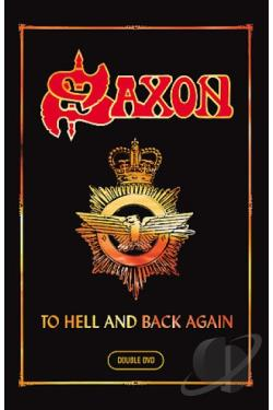 Saxon - To Hell and Back Again DVD Cover Art