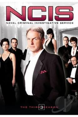 NCIS - The Complete Third Season DVD Cover Art