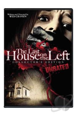 Last House on the Left DVD Cover Art