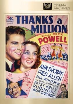 Thanks a Million DVD Cover Art