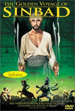 Golden Voyage of Sinbad DVD Cover Art