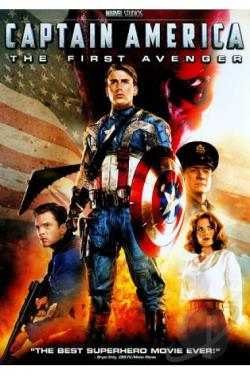 Captain America: The First Avenger DVD Cover Art
