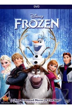 Frozen DVD Cover Art