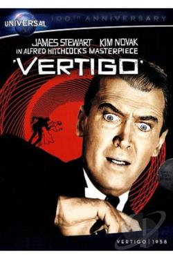 Vertigo DVD Cover Art
