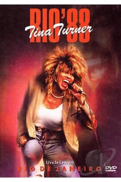 Tina Turner - Live in Rio DVD Cover Art
