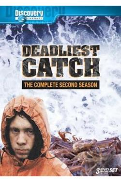 Deadliest Catch - The Complete Second Season DVD Cover Art
