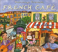 Putumayo Presents: French Cafe CD Cover Art