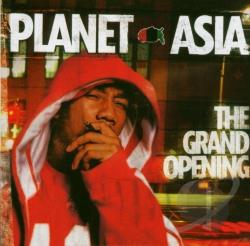 Planet Asia - Grand Opening CD Cover Art