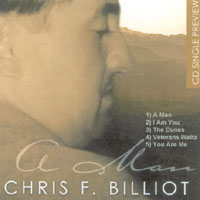 Chris F. Billiot - Man CD Cover Art