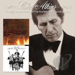 Atkins, Chet - Night Atlanta Burned/The First Nashville Guitar Quartet CD Cover Art