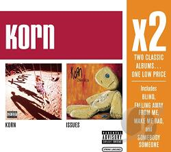 Korn - Korn/Issues CD Cover Art
