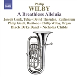 Black Dyke Band / Childs / Cook / Gault / Wilby - Philip Wilby: A Breathless Alleluia CD Cover Art