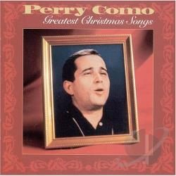 Como, Perry - Greatest Christmas Songs CD Cover Art